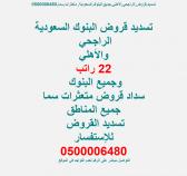 تسديد,قروض,الراجحي,الأهلي,جميع,البنوك,السعودية, متعثرات,سما,0500006480